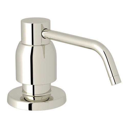 Rohl U.6495PN Deck Mounted Soap Dispenser In