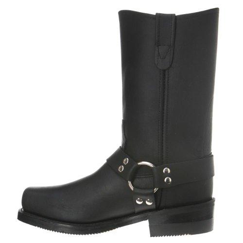 Dubbele H-laarzen: Mens Metro 10-inch Harnas Werkschoenen 4008 Zwart