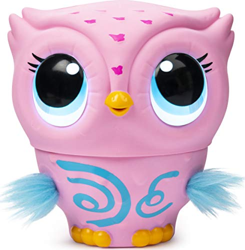 Owleez Baby Owl Interactive Toy With Lights And Sounds  Multicolor
