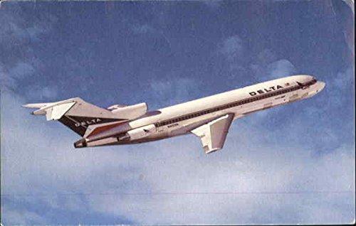 Delta Boeing 727 Aircraft Original Vintage - Boeing 727 Aircraft
