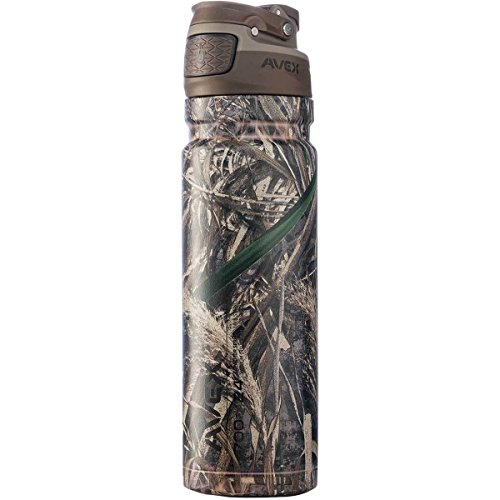 Avex FreeFlow Autoseal Stainless Steel 24 oz. Water Bottle (Realtree Camo) by Avex