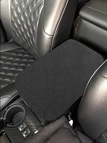 MOEBULB Center Console Lid Armrest Soft Pad Protector Cushion Cover Compatible 2010-2018 Toyota 4Runner