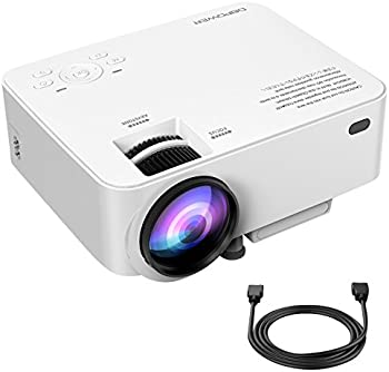 DBPower T20 1500-Lumens LCD Home Theater Projector