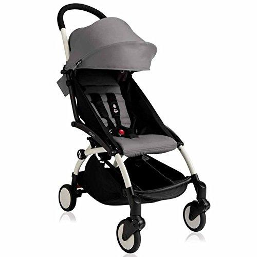 Babyzen YOYO Stroller – White – Grey