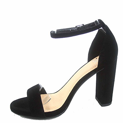 Deliziose Scarpe Da Donna Con Cinturino Alla Caviglia Open Toe Con Cinturino Alla Caviglia