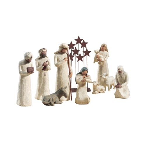 Demdaco Willow Tree 10 Pc
