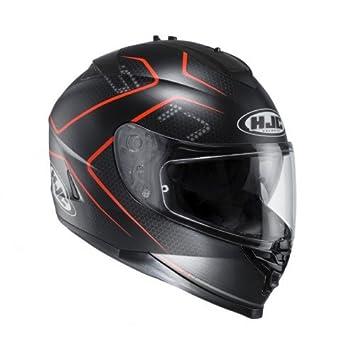 HJC 12287107 Casco de Moto, Lank, Talla S