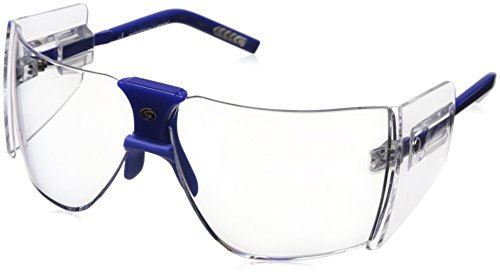 Gargoyles Performance Eyewear Classic Polycarbonate Safety Glasses, Blue Frame/Clear - Gargoyles Sunglasses