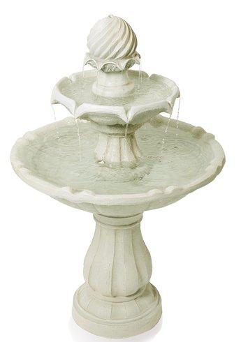 Fontaine Solaire « L'Impériale » H92Cm: Amazon.Fr: Jardin