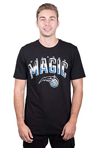 NBA Orlando Magic Men's T-Shirt Arched Plexi Short Sleeve Tee Shirt, Medium, Black