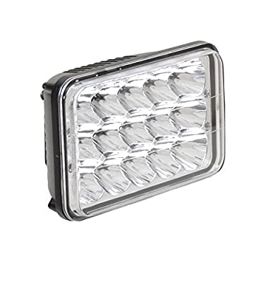 """Motorcycle Headlights LED Conversion Lamps Lights For Honda XR250 XR400 XR650 Suzuki DRZ - Rectangular 4"""" x 6"""" 45W IP68 Waterproof with 2 Years Guarantee"""