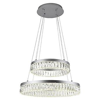 Euroton pantalla lámpara colgante kr410 Blanco Neutro ...