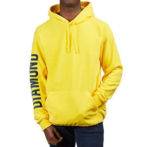 Diamond Supply Co. Polar Fleece Hoodie - Yellow - XL