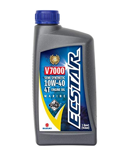 OEM Suzuki Marine Outboard Synthetic Blend 4-Cycle Engine Oil 10W-40 Quart