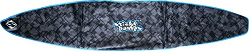 Sticky Bumps Single Day Black / Blue / Reflective SUP Boardbag - 10'0'' by Sticky Bumps