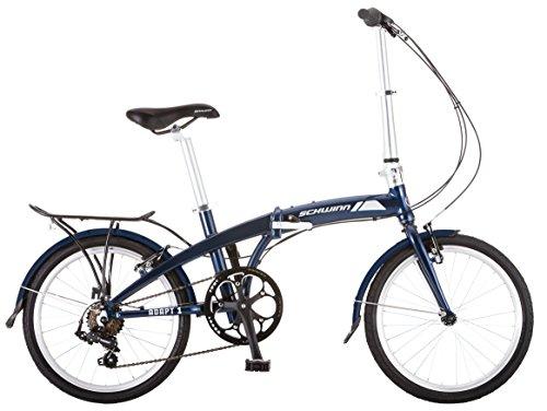 Schwinn Adapt 1 7 Speed Folding Bike Gloss Navy 16 One Size 20