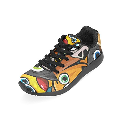 InterestPrint Womens Road Running Shoes Jogging Lightweight Sports Walking Athletic Sneakers Funny Eyes xVEVf1c7