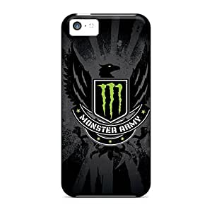 Apple Iphone 5c Gun3209mGby Unique Design Trendy Monster Army Logo Series Scratch Resistant Cell-phone Hard Covers -TraciCheung