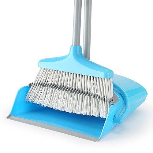 upright dustpan and broom set - 6