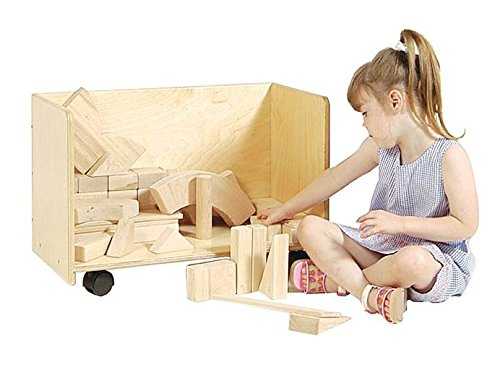 Kid's Play 3-Sides Block Cart