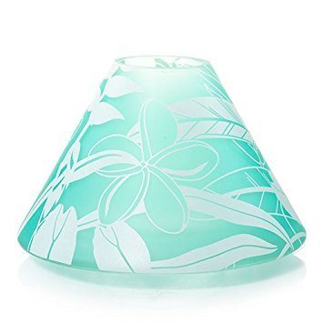 Yankee Candle Tahitian Mist Frosted Jar Candle Shade