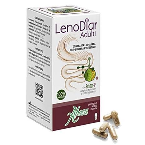 ABOCA LENODIAR ADULTOS - Contrastes la diarrea y los saldos lintestino 20 cápsulas