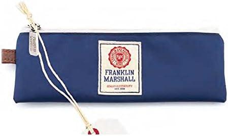 Estuche Escolar Bolsita Azul Franklin Marshall: Amazon.es: Oficina y papelería