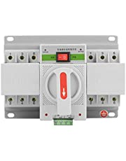 1PC 220V 3P Mini Intelligent Automatic Transfer Switch Circuit Breaker 63A Dual Power Change-Over Switch for Office Buildings