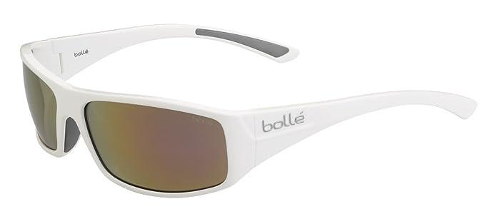 Bollé Weaver – Gafas de Sol para Hombre, Color Shiny White Rose Gold, tamaño S