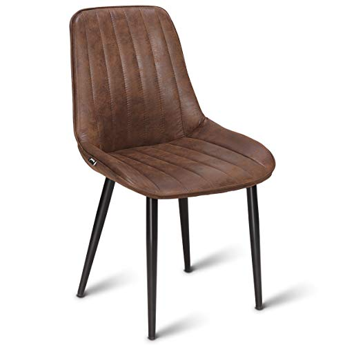 Fantastic Costway Dining Chair Modern Accent Armless Comfortable Padded Velvet Seat Back Dining Chairs Bar Height Dining Living Kitchen Pub Bistro Chairs Pdpeps Interior Chair Design Pdpepsorg