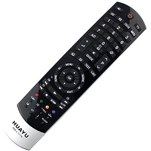 Repuesto Mando a distanciaa TOSHIBA Led Lcd Tv ct-90388/ct90388/75026949 remoto: Amazon.es: Electrónica