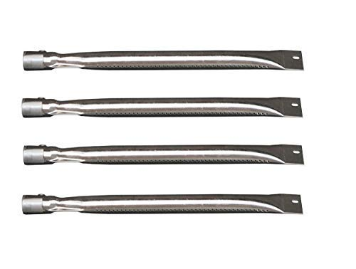 (VICOOL Universal Stainless Steel Burner Replacement for BBQ Gas Grill Brinkmann, Charmglow, Charmglo Model Grills, hyB405 (4-Pack))