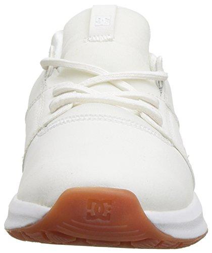 Se Ia Women's Skate White Gum Shoe Heathrow DC ApqTwxzgnx