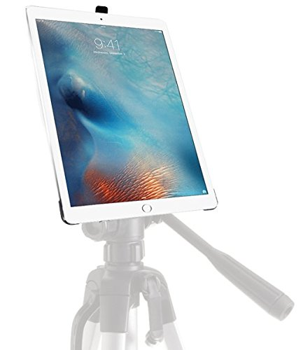 iShot G8 Pro iPad Pro 12.9 Tripod Mount Case - Securely Mount Your iPad Pro to Any 1/4 inch Thread Standard Camera Tripod, Monopod, Mic Stand or Music Stand - Compatible with iPad Pro 12.9 inch Only by iShot Pro