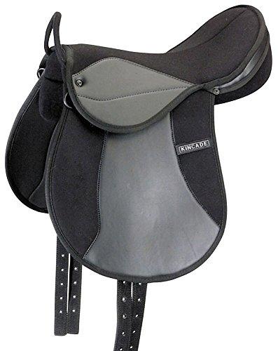Kincade Redi-Ride Child's Pony Saddle, Black, Size - Horse Saddle Miniature
