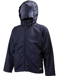 Voss Waterproof Jacket/Mens Workwear (S) (Navy Blue)