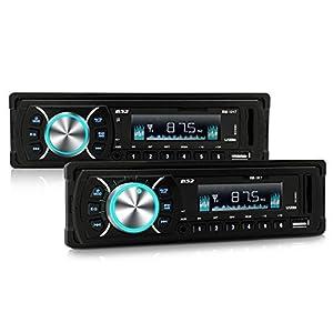 B52 CarAudio RM-1017 Car Stereo Receiver 120Watts, USB Port, SD Card Slot, MP3, 3.5 AUX