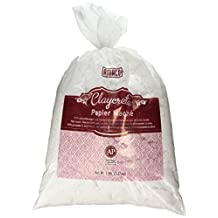 Amaco Claycrete Paper Mache, 5-Pound Bag, White