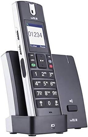 Humantechnik FreeTel III - Teléfono inalámbrico Bluetooth con técnica optimizada de la audición inductiva, color negro: Amazon.es: Electrónica