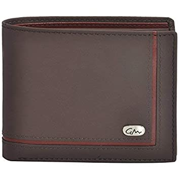 3a58d44221 Gentleman Brown Men's Wallet Genuine Leather Cardholder