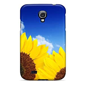 ALAflns3921Prtgx Faddish Pure Yellow Sunflowers Case Cover For Galaxy S4