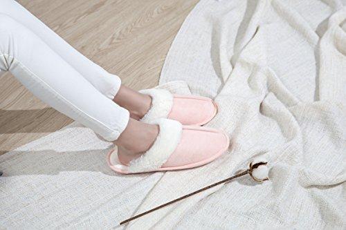B Pantofole Scarpe Miaows Antiscivolo Home Morbido Caldo Cotone Peluche Donna Y1 ZBqCH