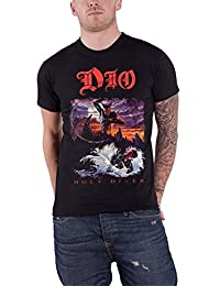 Dio T Shirt Holy Diver Band Logo Ronnie James New Official Mens Black