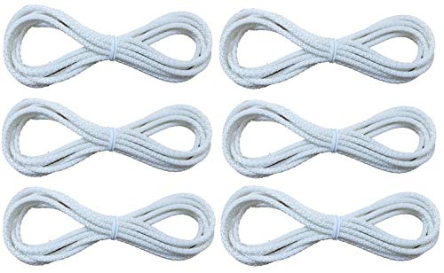 True Choice Cord Loops Fits All Major Brands Like Hunter Douglas, Levolor, Kirsch, Graber, Bali, Used On Most Cellular and Pleated Shades (2.7 mm) (6 Ft.) (6 Pack)