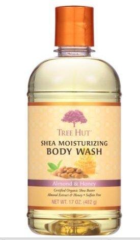 Tree Hut Almond & Honey Shea Moisturizing Body Wash 17 oz 17 Oz Moisturizing Gel