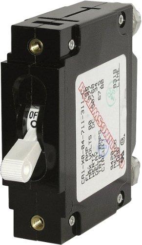 eries White Toggle Single Pole 60A Circuit Breaker ()