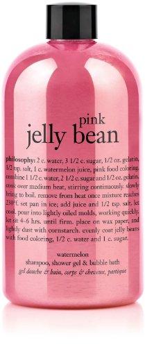 Pink Watermelon Jelly Bean - philosophy Pink Jelly Bean Watermelon Shampoo, Shower Gel and Bubble Bath 16 oz.
