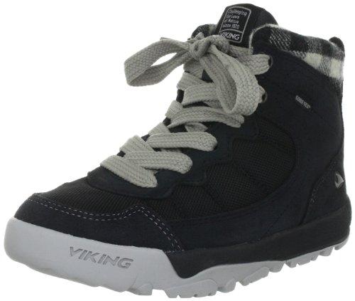 Viking CAMPUS BALLISTIC GTX 3-80010-203 Unisex - Kinder Sportschuhe - Basketball Schwarz (schwarz/grau 203)