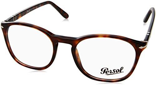 Persol Men's PO3007V Eyeglasses Havana - Italian Persol Sunglasses