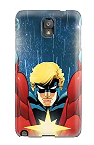 Evelyn Alas Elder's Shop New Style 3542597K39601127 New Arrival Captain Marvel Case Cover/ Note 3 Galaxy Case